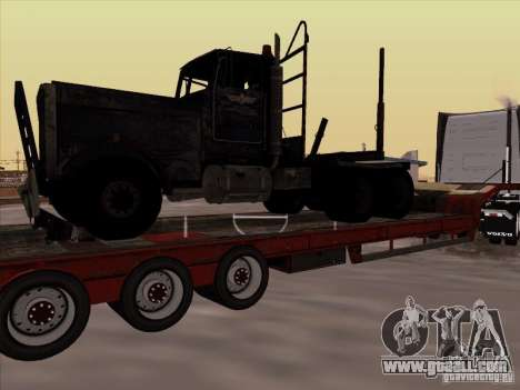 Volvo VNL 670 trailer for GTA San Andreas left view