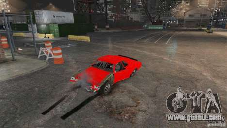 Jupiter Eagleray MK5 v.1 for GTA 4 back view