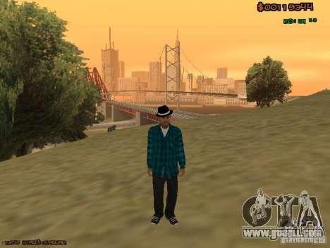 Varios Los Aztecas for GTA San Andreas