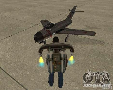 MIG 15 USSR for GTA San Andreas