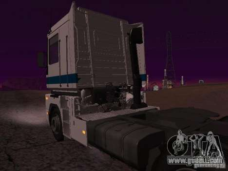 Renault Magnum Sommer Container for GTA San Andreas back left view