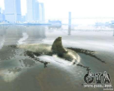 Megalodon for GTA 4 back left view