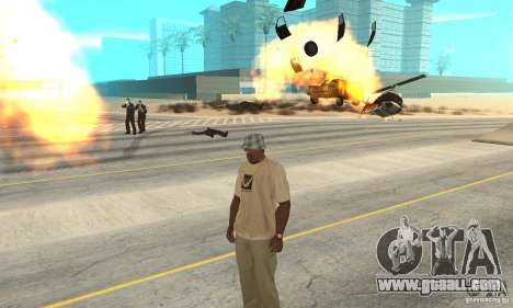 Gods_Anger (The WRATH Of GOD) for GTA San Andreas second screenshot