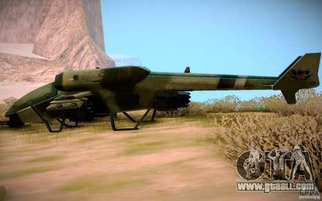 Type 4 Doragon for GTA San Andreas right view