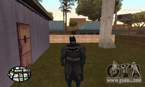 Dark Knight Skin Pack for GTA San Andreas