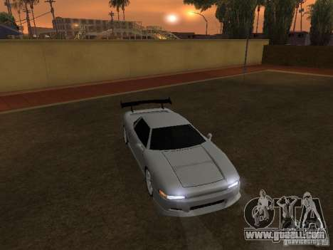 New Infernus HD for GTA San Andreas back left view