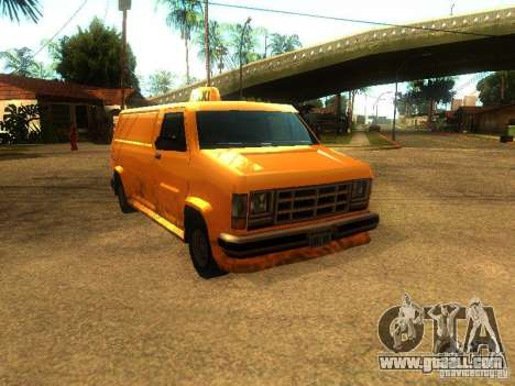Taxi Burrito for GTA San Andreas
