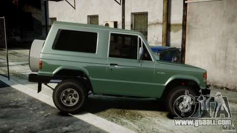 Mitsubishi Pajero I [Final] for GTA 4 left view