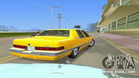 Buick Roadmaster 1994 for GTA Vice City back left view