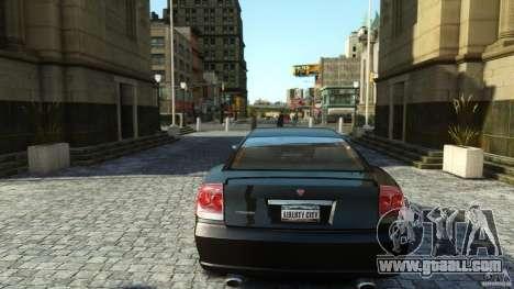 Civilian Buffalo v2 for GTA 4 back view