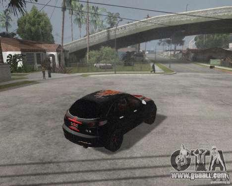 Infiniti FX35 for GTA San Andreas back left view