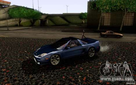 Acura NSX Targa for GTA San Andreas