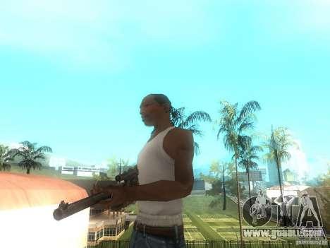 Rifle VSS Vintorez for GTA San Andreas second screenshot
