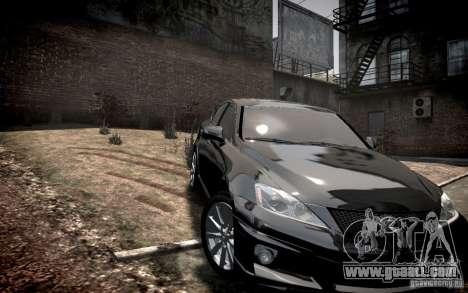 Lexus IS-F for GTA 4