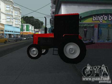 Tractor MTF 1025 for GTA San Andreas left view