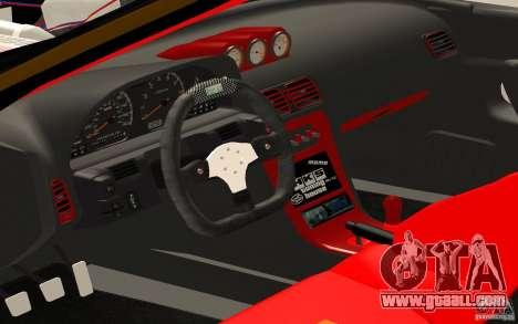Nissan Silvia S13 Crash Construction for GTA San Andreas right view