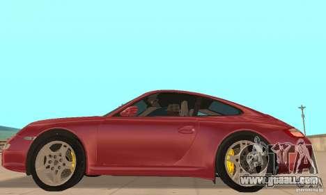 Porsche 911 (997) Carrera S v1.1 for GTA San Andreas left view