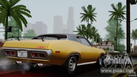 Plymouth GTX 426 HEMI 1971 for GTA San Andreas left view