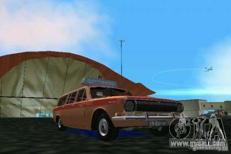 GAZ Volga 2402-Aeroflot for GTA Vice City left view