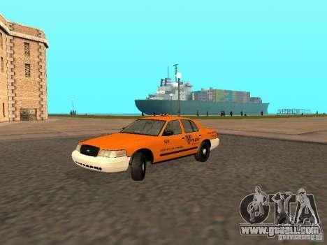 Ford Crown Victoria San Francisco Cab for GTA San Andreas