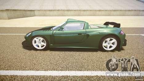 Porsche Carrera GT for GTA 4 left view