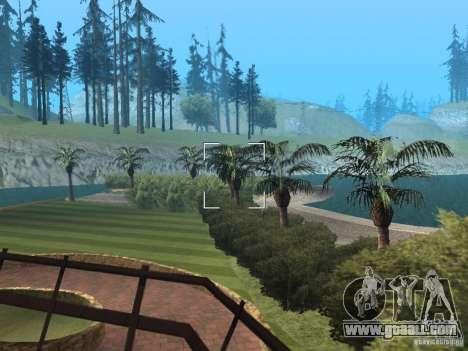 Island mansion for GTA San Andreas forth screenshot