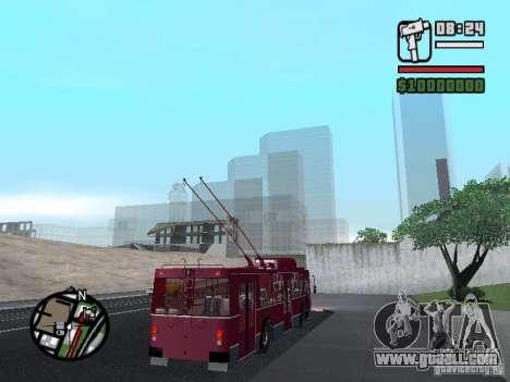 ZIU 682GM1 for GTA San Andreas side view
