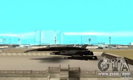 S.S.V. NORMANDY-SR 2 for GTA San Andreas left view