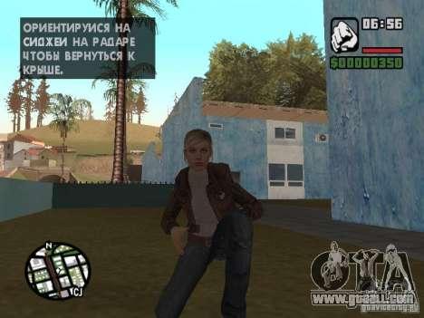 Lucy Stillman in Assassins Creed Brotherhood for GTA San Andreas fifth screenshot