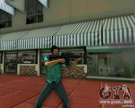 M4A1 for GTA Vice City third screenshot
