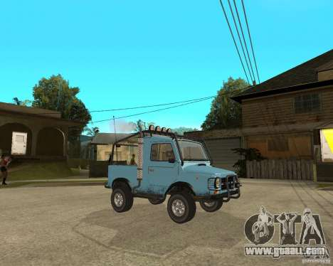 Luaz 969 m away-Tuning for GTA San Andreas right view