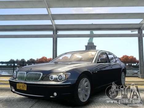 BMW 7 Series E66 2011 for GTA 4