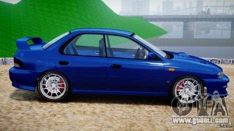 Subaru Impreza WRX STI 1999 v1.0 for GTA 4 left view
