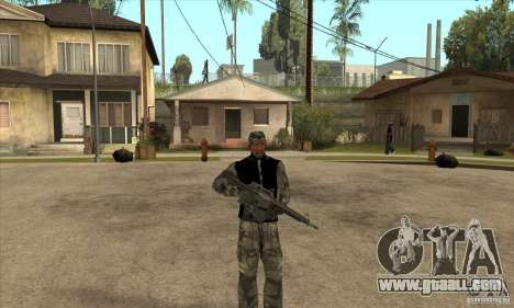Camouflage clothing for GTA San Andreas