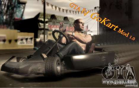 GoKart Mod 1.0 for GTA 4