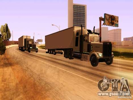 Western Star 4900 for GTA San Andreas side view