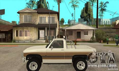 Ford Ranger for GTA San Andreas left view