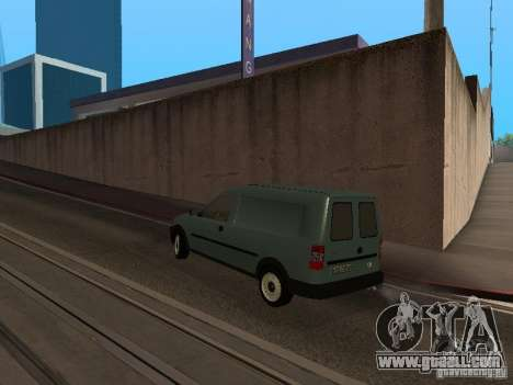 Opel Combo 2005 for GTA San Andreas back left view