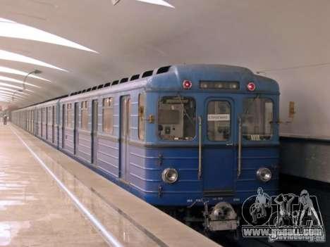 Metro e for GTA San Andreas upper view