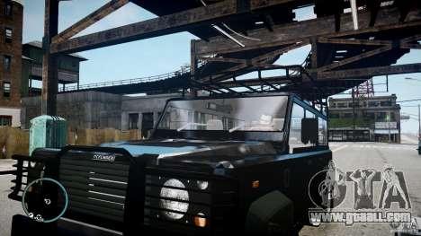 Land Rover Defender for GTA 4