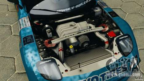 Mazda RX-7 RE-Amemiya for GTA 4 inner view