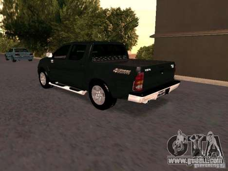 Toyota Hilux SRV 3.0 4X4 Automatica for GTA San Andreas left view