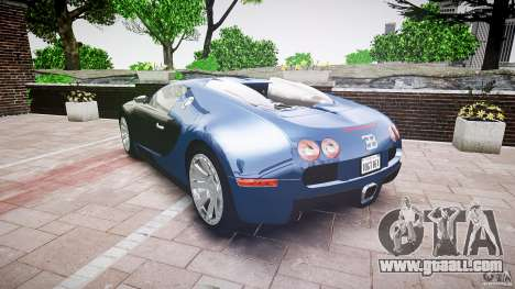 Bugatti Veyron 16.4 v3.0 2005 [EPM] Strasbourg for GTA 4 side view