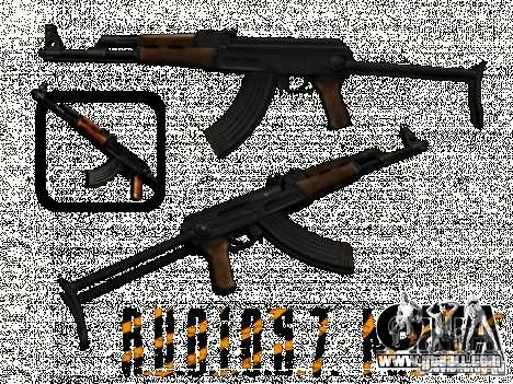 AKC - 47 HD for GTA San Andreas