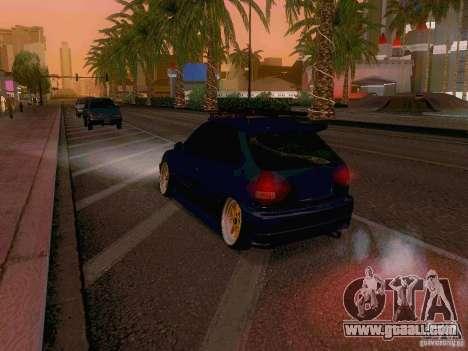 Honda Civic JDM Hatch for GTA San Andreas side view