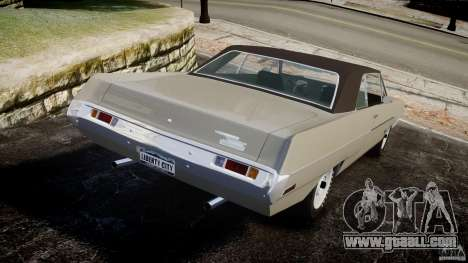 Plymouth Scamp 1971 for GTA 4 back left view