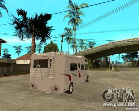 Chevrolet Camper for GTA San Andreas back left view