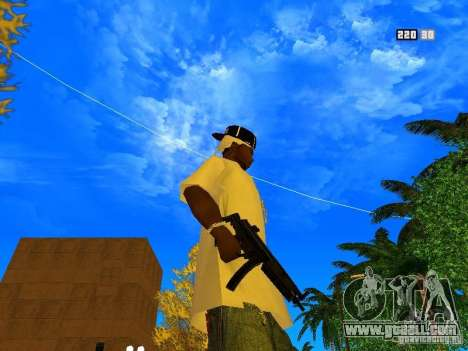 New Weapon Pack for GTA San Andreas ninth screenshot