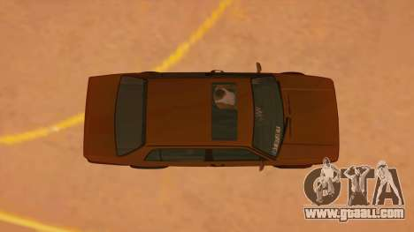 Volkswagen Jetta Mk2 for GTA San Andreas inner view