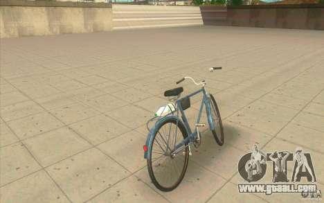 Bike Ural-Dirty version for GTA San Andreas back left view